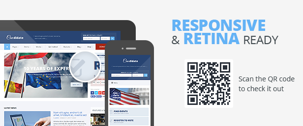 Candidate - Political/Nonprofit HTML Theme
