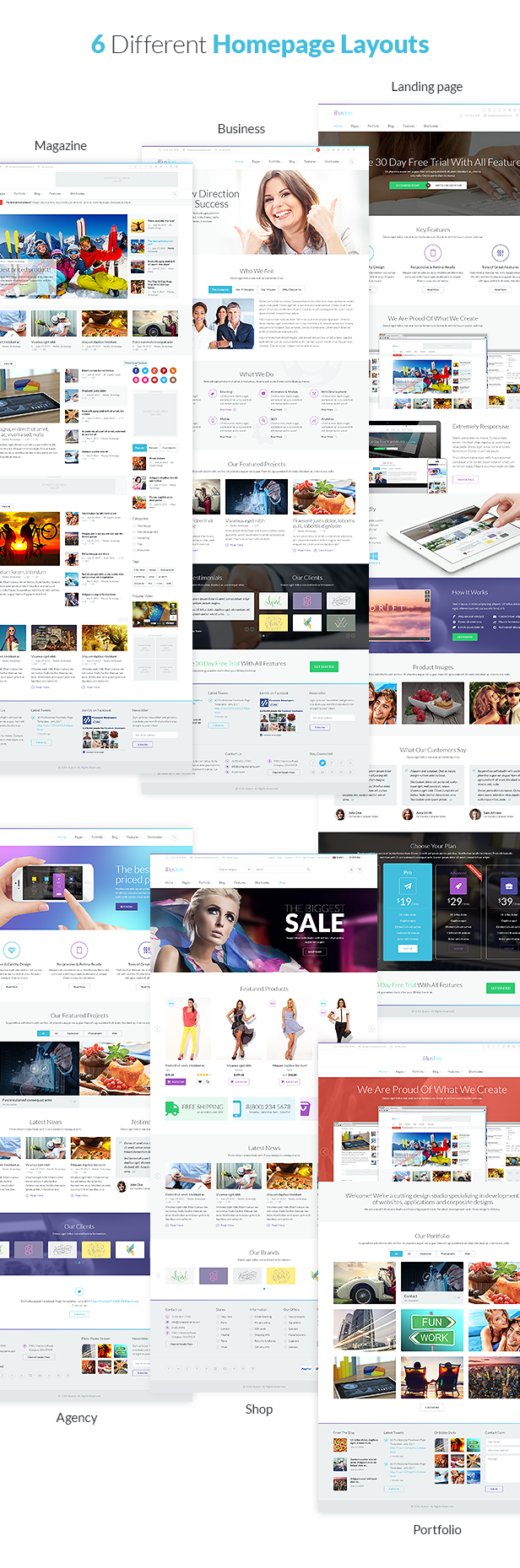 illusion - Premium Multipurpose HTML Template