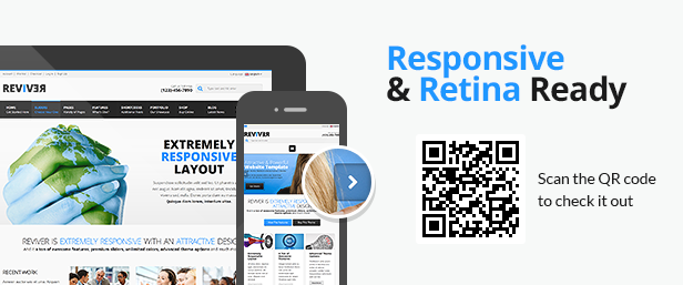 ReviveR - Premium Multipurpose HTML Template - 1