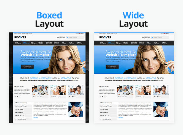 ReviveR - Premium Multipurpose HTML Template - 3