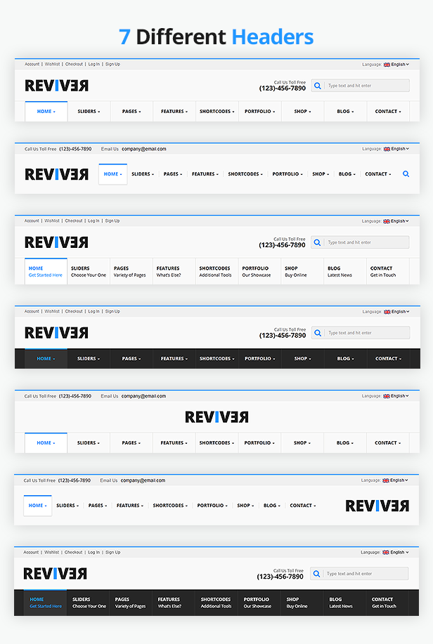 ReviveR - Premium Multipurpose HTML Template - 5