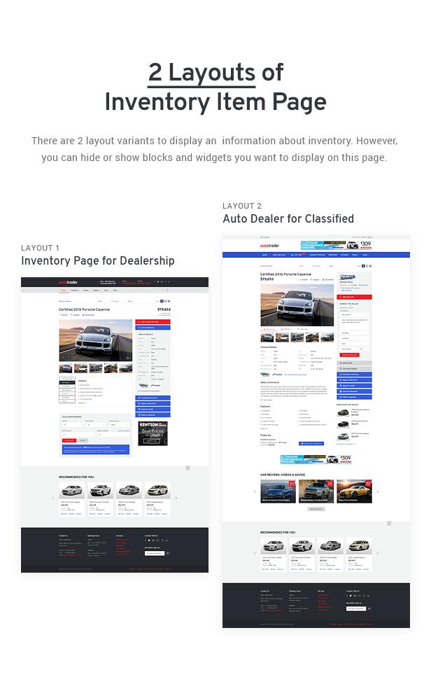 Avtorai- Car Dealer & Automotive Classified WordPress Theme - 7