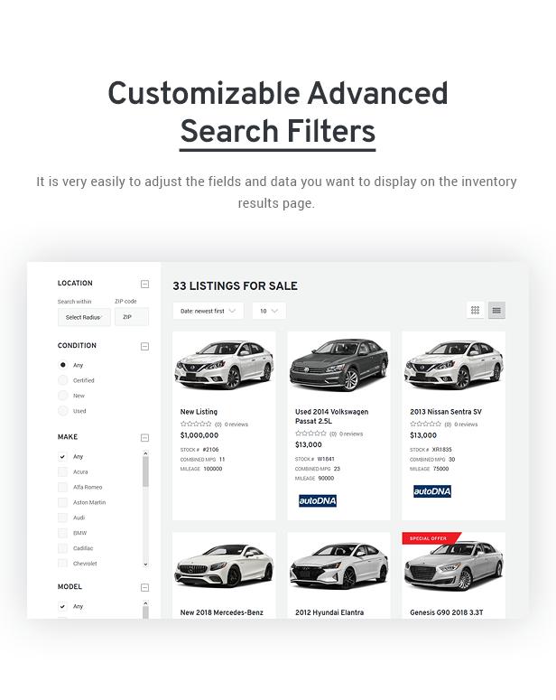 Avtorai- Car Dealer & Automotive Classified WordPress Theme - 5
