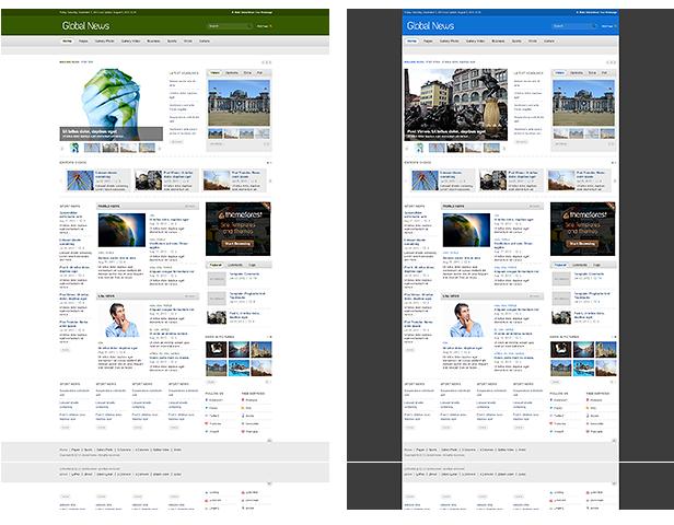Global News Portal - Responsive Drupal Theme Download