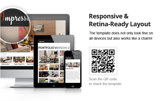 Impressive - Interior Responsive WordPress Theme