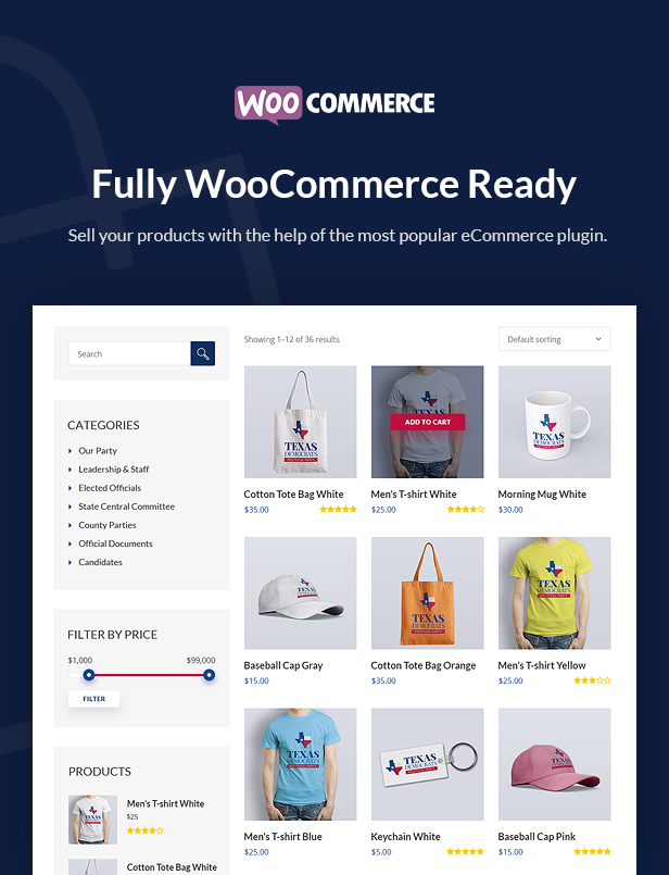 inForward - Political Campaign and Party WordPress Theme - 8