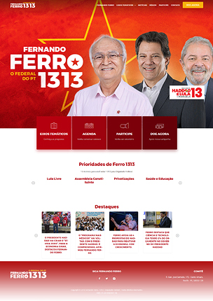 inForward - Political Campaign and Party WordPress Theme - 12