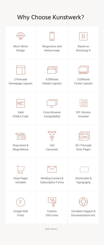 Kunstwerk - Handmade & Artisan HTML Website Template - 2