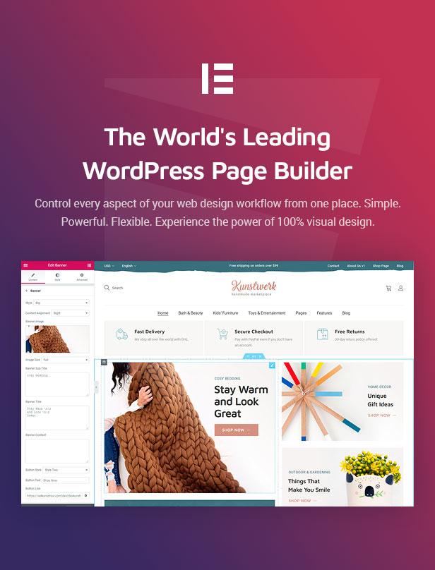 Kunstwerk - Handmade & Artisan Multivendor WordPress Theme - 5