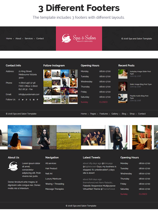 Beauty & Construction Services HTML Template - 5
