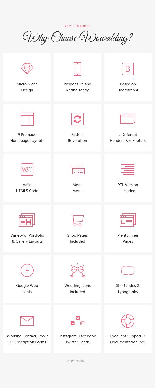 WoWedding - Wedding Oriented HTML Website Template - 2