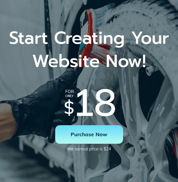 Cleansy - Car Wash Services & Products HTML Template - 3