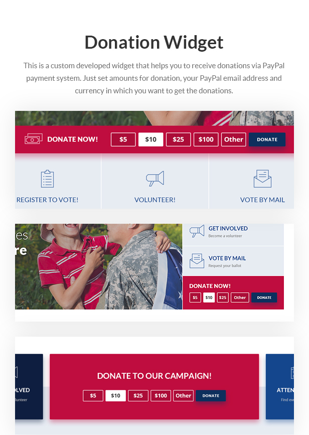 inForward - Political Campaign and Party WordPress Theme - 7
