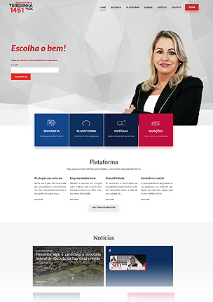 inForward - Political Campaign and Party WordPress Theme - 22