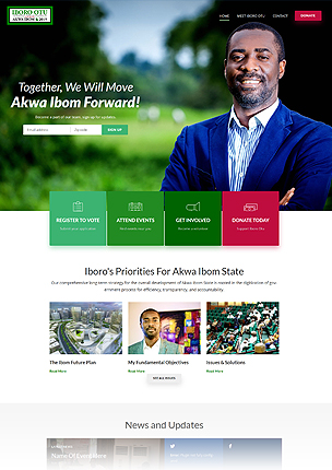 inForward - Political Campaign and Party WordPress Theme - 19