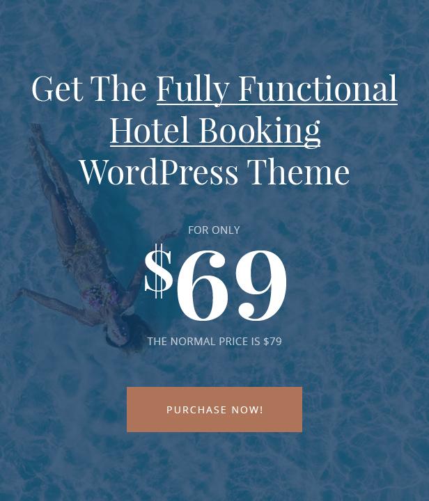 Milenia - Hotel & Booking WordPress Theme - 8