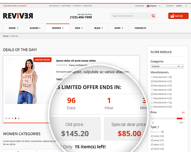 Reviver - Responsive Multipurpose VirtueMart Theme - 23
