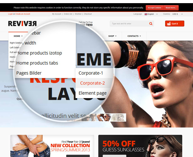 Reviver - Responsive Multipurpose VirtueMart Theme - 6