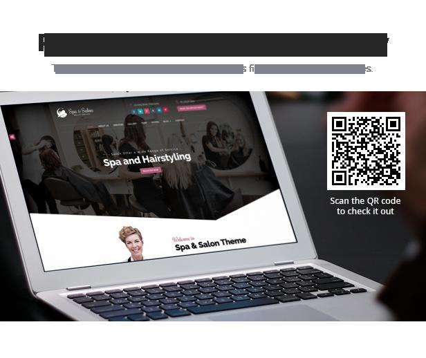 Beauty Salon & Construction Services WordPress Theme - 2