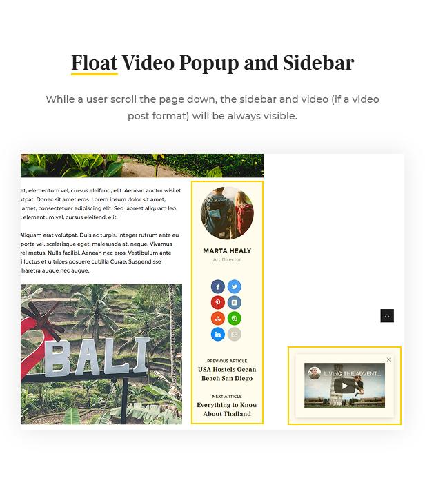 Surround - Vlog & Blog WordPress Theme - 8